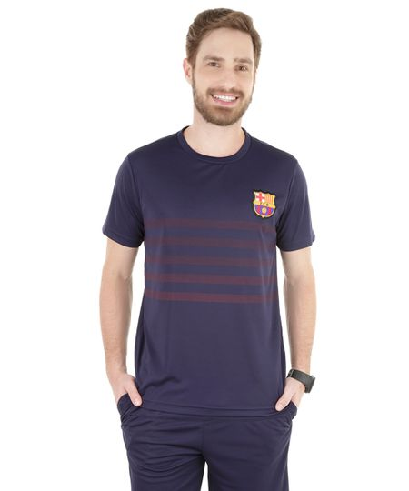 Camiseta Barcelona Azul Marinho