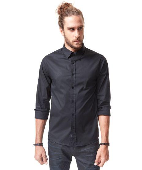 Camisa-Social-Replay-Preta-8248663-Preto_1