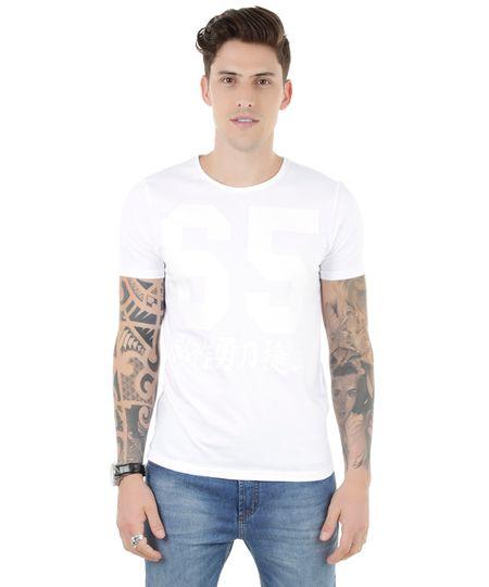 Camiseta 65 Branca