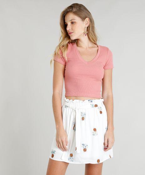 a2c51e17a Blusa Rosa Pink Feminina em promoção - Compre Online - Melhores ...