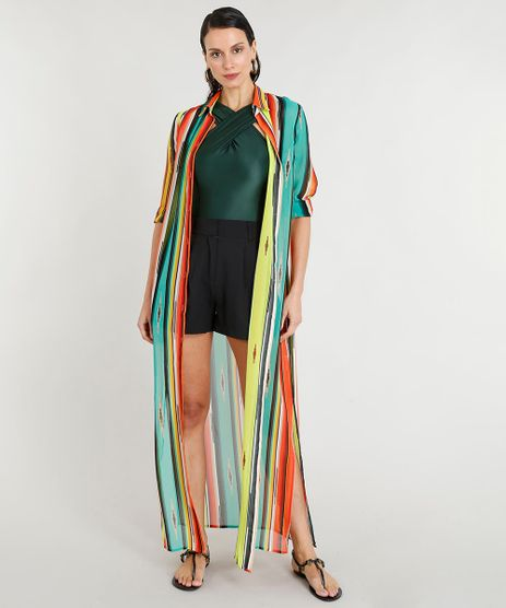 32422b6af3 Vestido Longo Com Fenda em promoção - Compre Online - Melhores ...