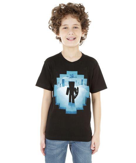 Camiseta-Minecraft-Preta-8335955-Preto_1