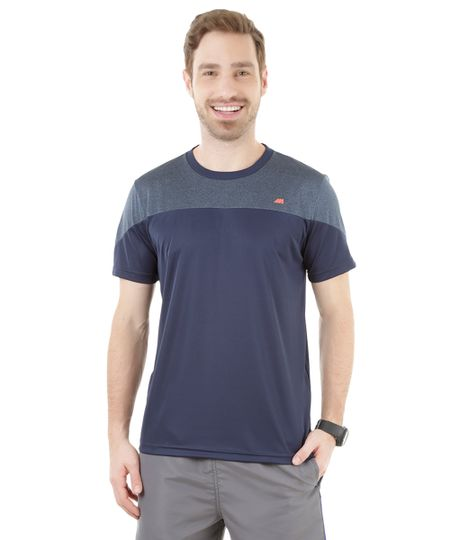 Camiseta de Treino Ace Azul Marinho