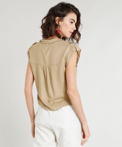 e6af22d44 Camisa Com Bolso Feminina em promoção - Compre Online - Melhores ...