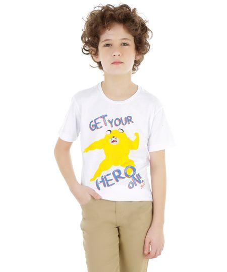Camiseta Hora de Aventura Branca