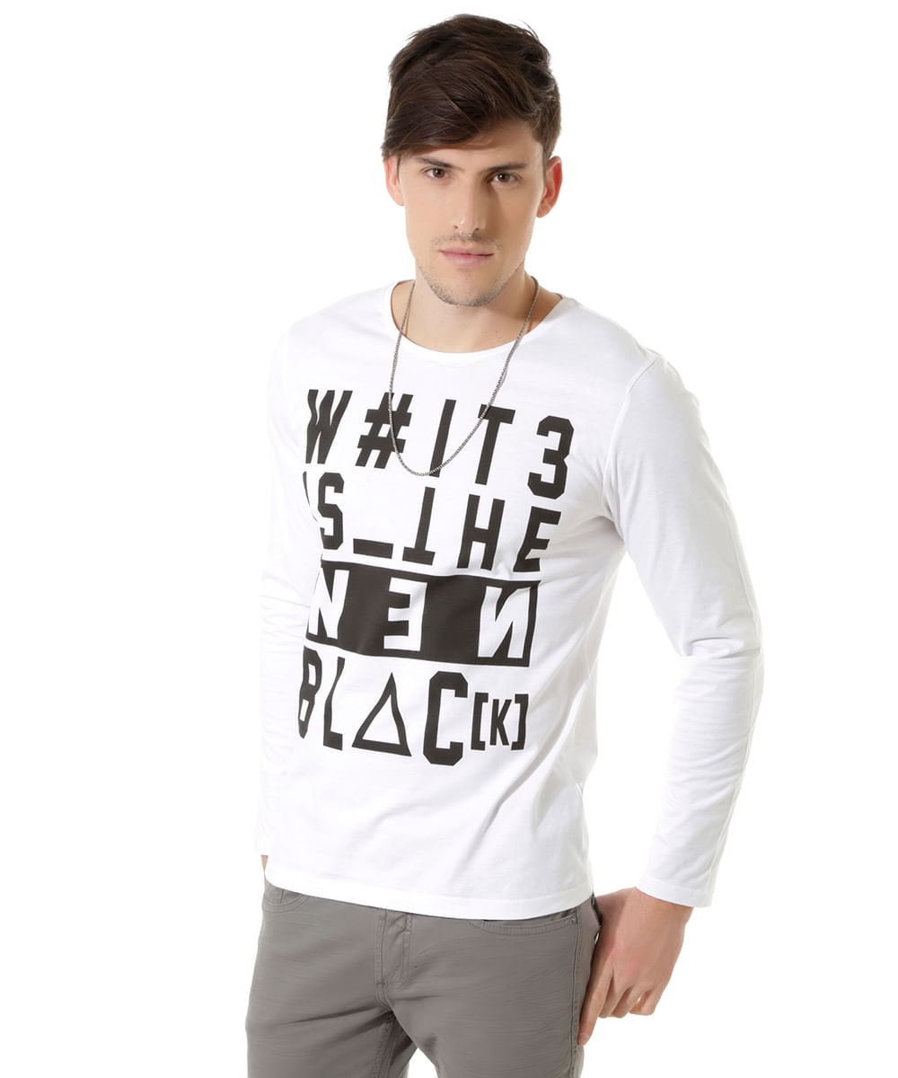 Camiseta--W-it3-1S-The-New-Black--Branca