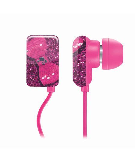 Fone de Ouvido Multilaser Earphone Barbie - PH108