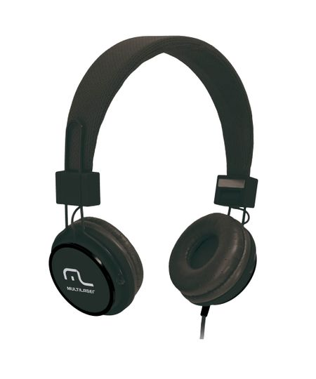 Fone de Ouvido Multilaser Headphone Fun Preto P2 - PH115