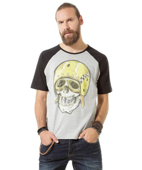 Camiseta--Caveira--Led-s-Tattoo-Cinza-Mescla-8395162-Cinza_Mescla_1