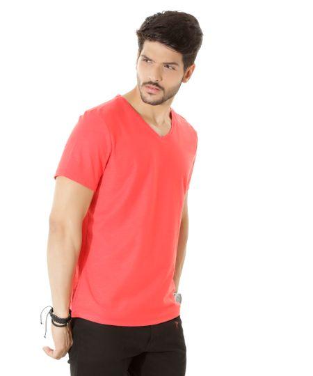 Camiseta Flamê Básica Vermelha