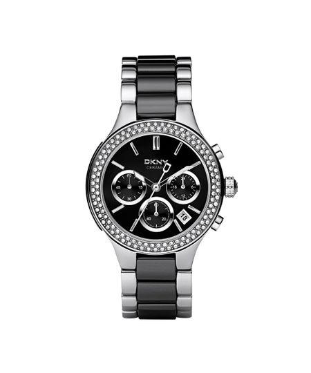 Relógio DKNY Feminino Preto e Prata - GNY8180/Z