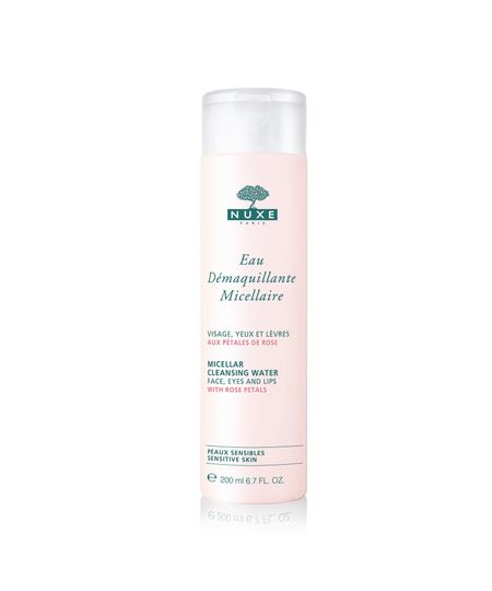 Água Demaquilante Nuxe Micellar Cleansing Water With Rose