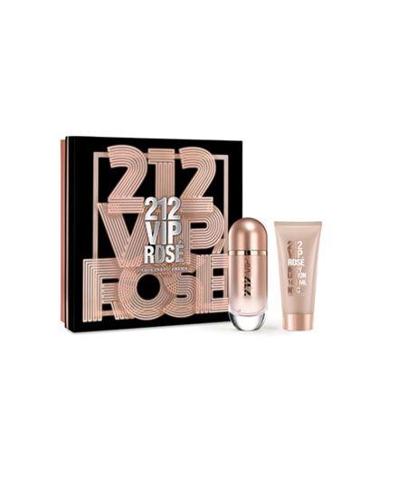 Coffret 212 Vip Rose Feminino Eau de Parfum 80ml + Body Lotion 100ml