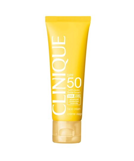 Protetor Solar Facial Clinique SPF 50 Face Cream