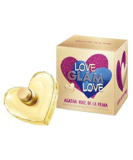 Perfume Love Glam Love Agatha Ruiz de La Prada Eau de Toilette Feminino 30 Ml