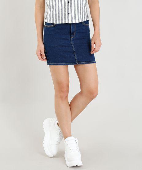 27083130ca Saias Jeans Curtas em promoção - Compre Online - Melhores Preços