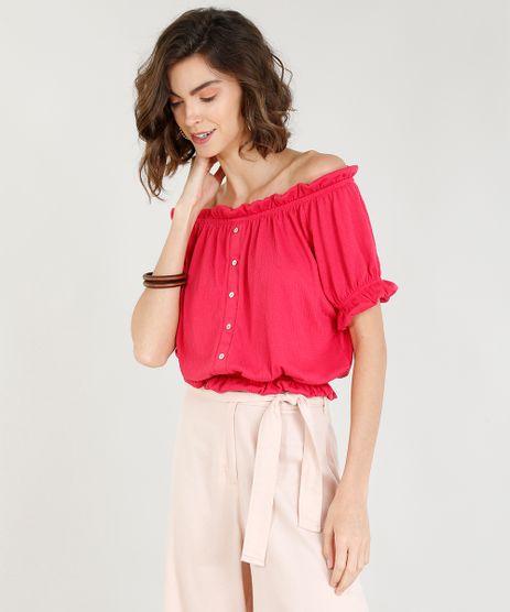 8b9fe8f93 Blusa Pink Feminina em promoção - Compre Online - Melhores Preços   C&A