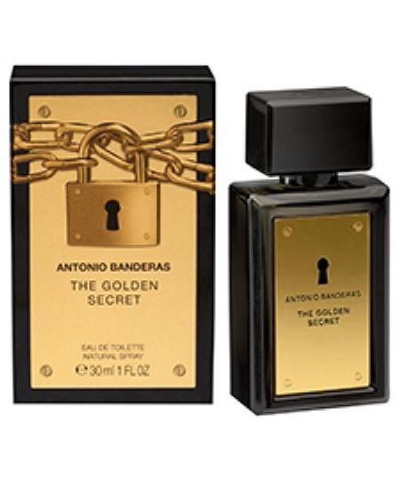 Perfume The Golden Secret Antonio Banderas Eau de Toilette Masculino 30 Ml