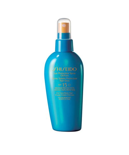 Protetor Solar Shiseido Sun Protection Spray Oil Free SPF15