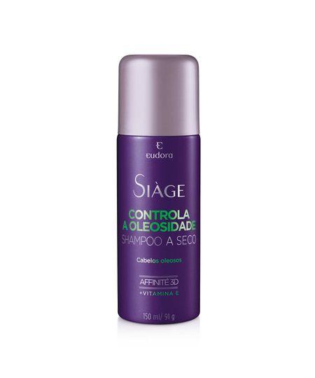 Siàge Shampoo a Seco Controla a Oleosidade Eudora