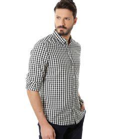 Camisa-Comfort-Xadrez-Preta-8302468-Preto_1