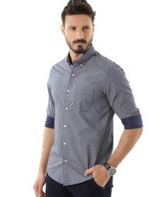 Camisa-Slim-Mini-Print-Azul-Marinho-8353410-Azul_Marinho_1
