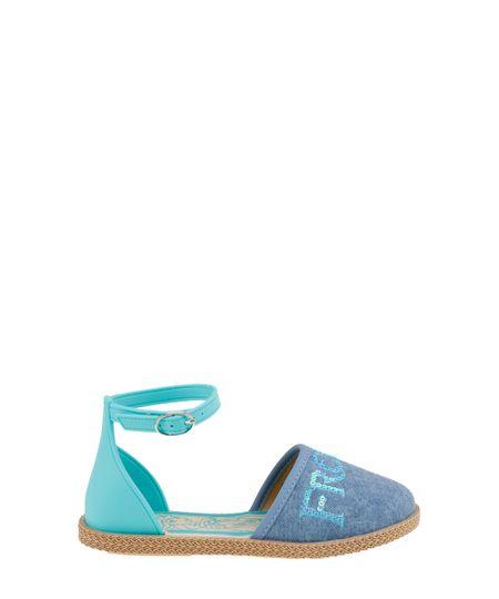 Sandália Frozen Azul
