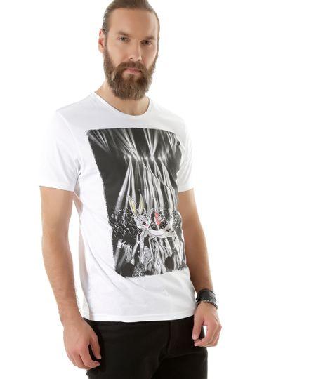 Camiseta Pernalonga Branca