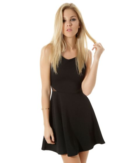 Vestido-Evase-com-Recortes-Preto-8367372-Preto_1