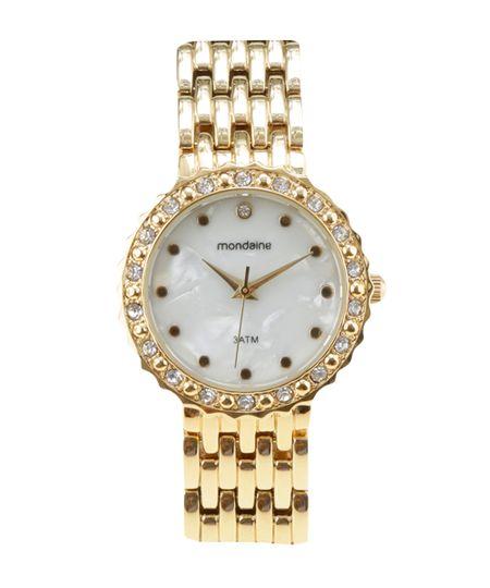 Relógio Mondaine Analógico Feminino 94788LPMVDM1 - Dourado