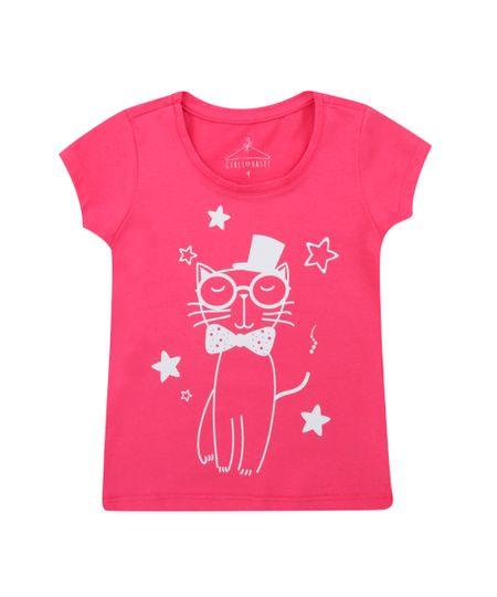 Blusa Gatinho Pink