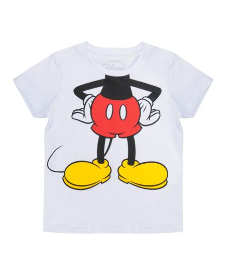 Camiseta Mickey Branca
