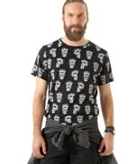 Camiseta-Estampada-de-Caveiras-Preta-8396724-Preto_1