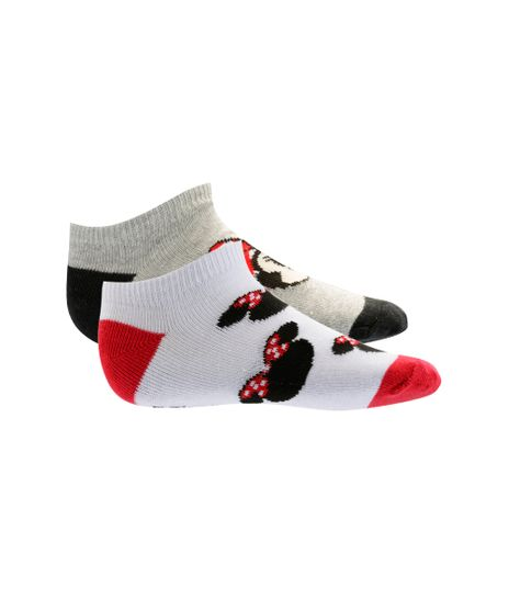 Kit-de-2-Pares-de-Meias-Minnie-Multicor-8394764-Multicor_1