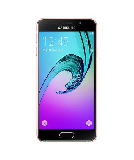 """Smartphone-Samsung-Galaxy-A3--Tela-47""""-16GB-Camera-13MP-QuadCore-Android-6-0-Acabamento-em-metal-e-vidro-4G-Rose-8485826-Rose_1"""
