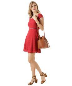 Vestido-em-Renda-com-Cinto-Vermelho-8407146-Vermelho_3