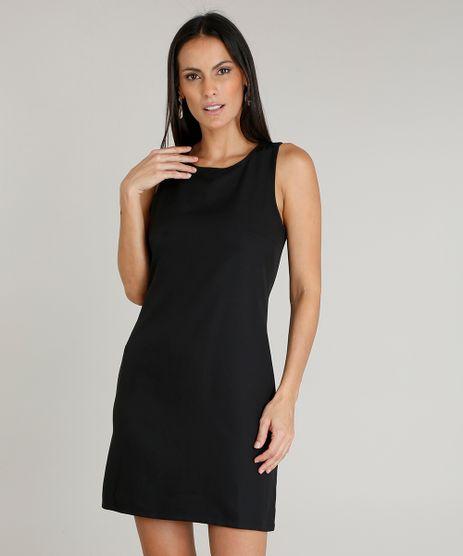 ce850b44e1 Vestido preto em promoção - Compre Online - Melhores Preços