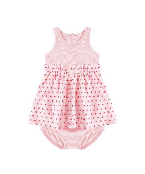 Conjunto-de-Vestido-de-Poas---Calcinha-Rosa-Claro-8326960-Rosa_Claro_1