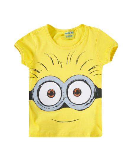Blusa Minions Amarela