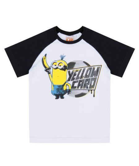 Camiseta Minions Branca