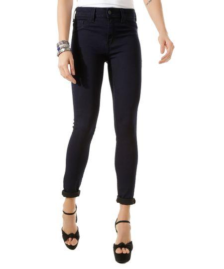 Calça Super Skinny Energy Jeans Azul Escuro
