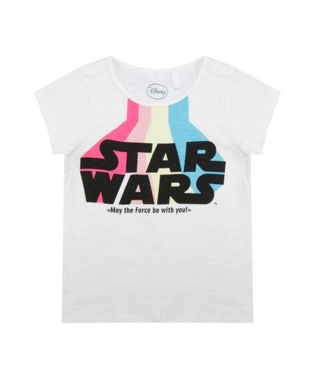 Blusa Star Wars Off White