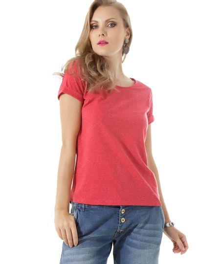 Blusa Básica Botonê Vermelha