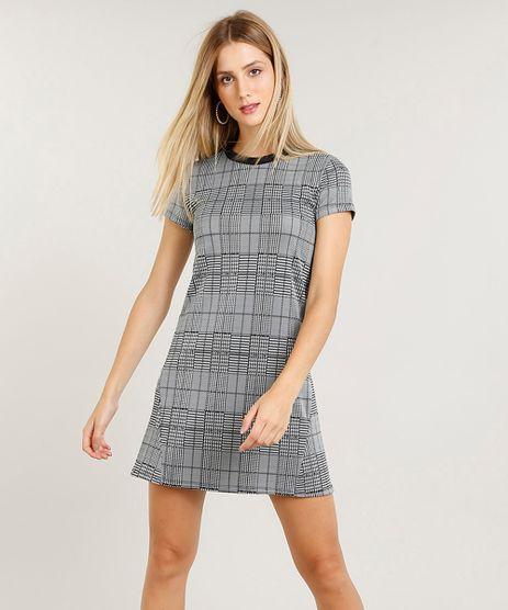 23df4d1922 Vestido Cinza Curto em promoção - Compre Online - Melhores Preços