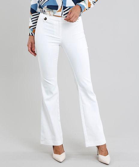 608863817 Calca Feminina Branca em promoção - Compre Online - Melhores Preços ...