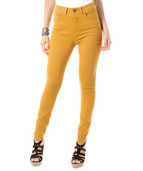 Calca-Super-Skinny-Amarelo-Escuro-8382592-Amarelo_Escuro_1