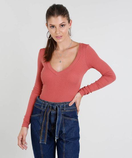 5618a2b16 Blusa Rosa Pink Feminina em promoção - Compre Online - Melhores ...