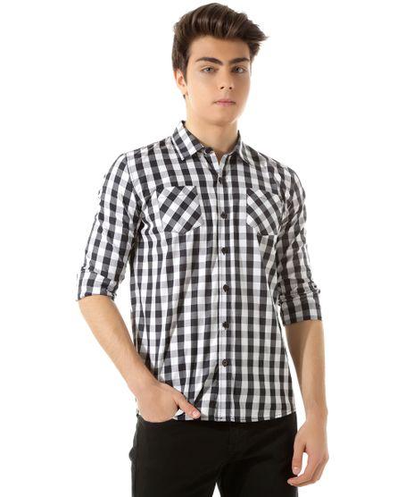 Camisa-Xadrez-Preta-8393949-Preto_1