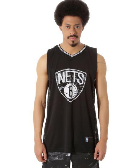 Regata-Brooklyn-Nets-NBA-Preta-8411319-Preto_1