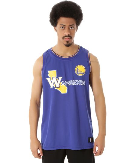Regata NBA Golden State Warriors Azul